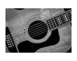 Classic Guitar Detail IX Prints by Richard James