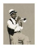 Cornet Player Plakater af William Buffett