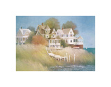 Cottages by the Sea Posters by Albert Swayhoover