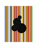 Concentric Universe Prints by Dan Bleier
