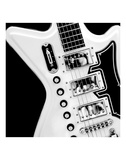 Classic Guitar Detail II Print by Richard James