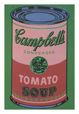 Colored Campbell's Soup Can, 1965 (red & green) Plakater af Andy Warhol