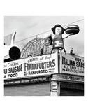 Coney Island Frankfurters Posters by Erin Clark