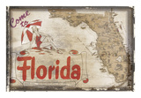 Come to Florida Posters by  Vintage Vacation