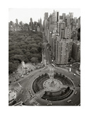 Columbus Circle Print by Chris Bliss