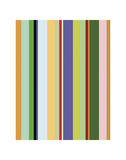 Colorfield Stripe Posters by Dan Bleier