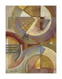 Circular Rhythms I Poster av Marlene Healey