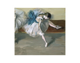 Danseuse Au Repos, c. 1879 Art by Edgar Degas