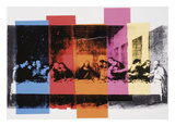 Detail of The Last Supper, 1986 Posters by Andy Warhol