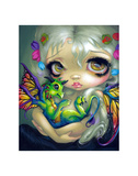 Darling Dragonling IV Print by Jasmine Becket-Griffith