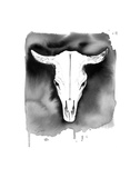 Cow Skull Posters by Jessica Durrant