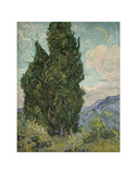 Cypresses, 1889 Posters by Vincent van Gogh