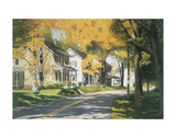 Creek Road Print by Gene Mcinerney