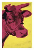 Cow, 1966 (yellow & pink) Print by Andy Warhol