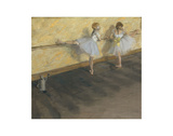 Dancers Practicing at the Barre, 1877 Prints by Edgar Degas