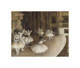 Dance Rehearsal, 1874 Giclee Print by Edgar Degas