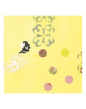 Delightful in Creamery Yellow II Art by  Yafa