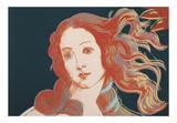 Details of Renaissance Paintings (Sandro Botticelli, Birth of Venus, 1482), 1984 Plakater af Andy Warhol
