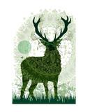 Deer Prints by Teofilo Olivieri