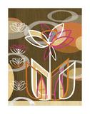 Dahlia Motif Print by Linda Ketelhut