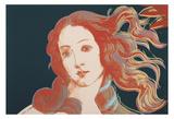 Details of Renaissance Paintings (Sandro Botticelli, Birth of Venus, 1482), 1984 Poster von Andy Warhol