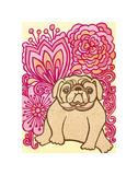 English Bulldog Print by  My Zoetrope