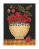 Cup O Raspberries Art by Diane Ulmer Pedersen