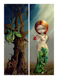 Eve and the Tree of Knowledge Art by Jasmine Becket-Griffith