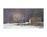 Evening at Long Farm Poster by Ray Hendershot