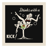 Drinks with a Kick Posters