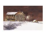 Evening at Knabb Farm Prints by Bradley Hendershot