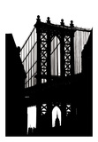 DUMBO Silhouette Prints by Erin Clark