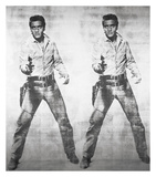 Elvis® 2 Times, 1963 Giclee Print by Andy Warhol