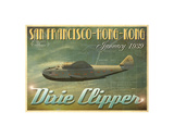 Dixie Clipper Prints by Carlos Casamayor