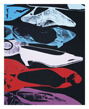 Diamond Dust Shoes (Parallel), 1980-81 Posters by Andy Warhol