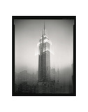 Empire State Building Motion Landscape 2 Prints by Len Prince