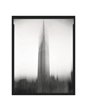 Empire State Building Motion Landscape 1 Posters by Len Prince