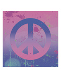 Psychedelic Peace Prints by Erin Clark