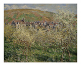 Plum Trees in Blossom, 1879 Prints by Claude Monet