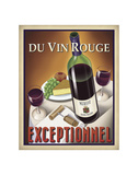 Du Vin Rouge Exceptionnel Print by Steve Forney