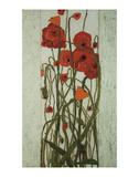 Poppy Garden Print by Karen Tusinski