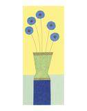 Pom-Pom Cornflowers Posters by Annabel Hewitt