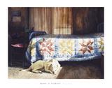Dog Nap Prints by Mark Stewart