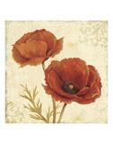Poppy Bouquet I Poster by Daphne Brissonnet