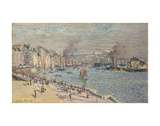 Port of Le Havre, 1874 Poster by Claude Monet