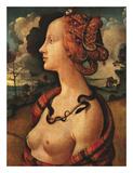 Portrait of Simonetta Vespucci, c. 1480 Prints by Piero di Cosimo Vespucci