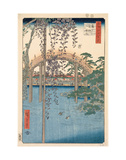 Precincts of the Tenjin Shrine at Kameido, 1856 Prints by Ando Hiroshige