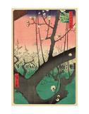 Plum Garden, Kameido, 1857 Poster par Ando Hiroshige