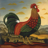 Rooster Art by Diane Ulmer Pedersen