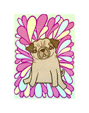 Pug Poster by  My Zoetrope